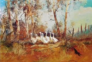 Herding the Farm Geese